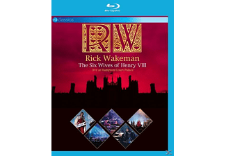 Rick Wakeman - THE SIX WIVES OF HENRY VIII-LIVE AT HAMPTON COURT [Blu-ray]