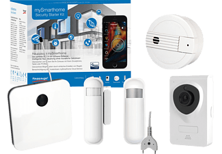 HAUPPAUGE mySmarthome SECURITY, Starter Kit, läuft über System: Z-Wave
