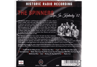 The Spinners - Live In Kentucky 82 - (CD)