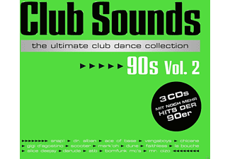VARIOUS - Club Sounds 90s - Vol.2 - (CD)