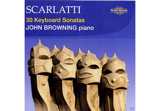 John Browning - 30 Keyboard Sonatas - (CD)