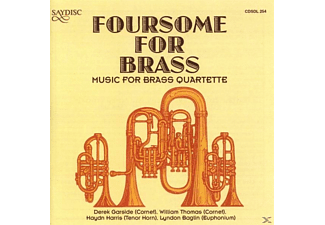 THOMAS, BAGLIN, HARRIS, GARSIDE - Foursome for Brass - (CD)