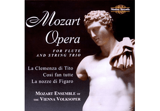 Schmeiser, Mozart Ensemble - Opera For Flute+String - (CD)