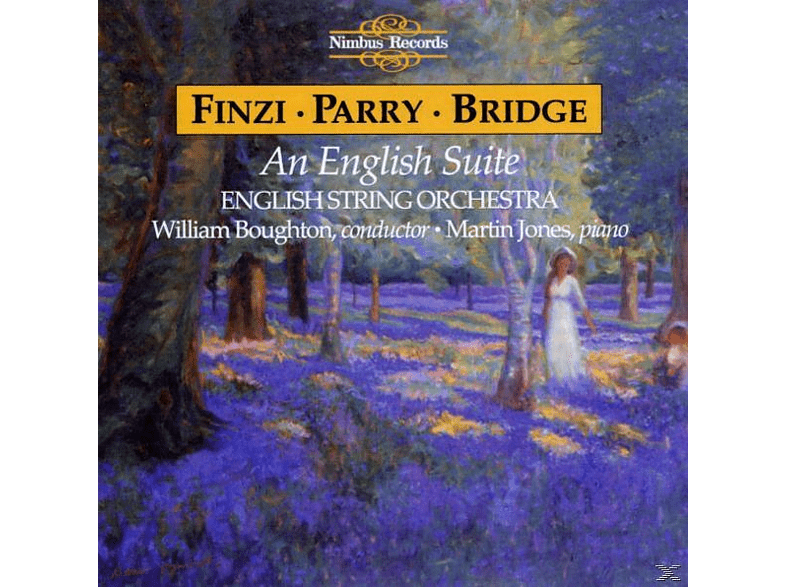 William Boughton, English String Orchestra - An English Suite [CD]