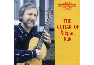 Rak Stepan - WORKS FOR GUITAR - (CD)