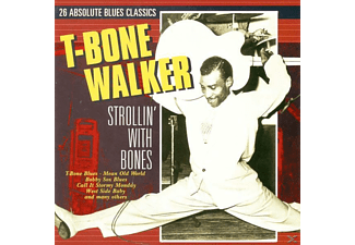 T-Bone Walker - Strollin' With Bones - (CD)