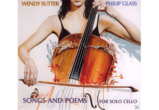 Philip Glass - SONGS AND POEMS FOR SOLO CELLO - (CD)