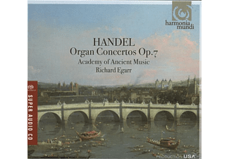 Richard & Academy Of Ancient Music Egarr - Orgelkonzerte op.7 - (CD)