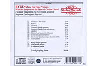 Stephen/christ Church Cathedral Choir Darlington - Mass For Four Voices [CD]