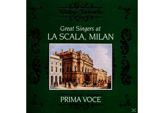 VARIOUS, Maurel/Melba/Dal Monte/Pinza/+ - Great Singers At La Scala - (CD)