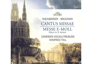VARIOUS, Winfried Toll / Camerata Vocale Freiburg - Cantus Missae/Messe e-moll - (CD)