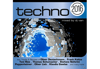 VARIOUS - Techno 2016 - (CD)
