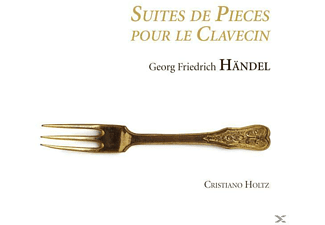 Christiano Holtz - Suites De Pieces Pour Le Clavecin - (CD)
