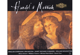 Boughton/Saint Michaels Singer - Messiah (GA) - (CD)
