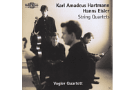 Vogler Quartet, Vogler Quartett Berlin - Hartmann/Eisler:String Quart. [CD]