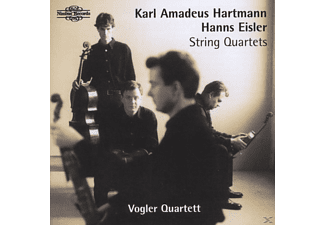Vogler Quartet, Vogler Quartett Berlin - Hartmann/Eisler:String Quart. - (CD)