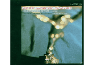 Ensemble William Byrd - Miserere/Lamentations/Stabat Mater - (CD)