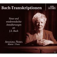 Angelika Nebel (klavier), Angelika Nebel - Bach-Transkriptionen [CD]