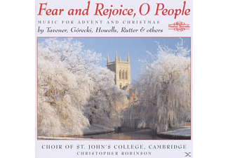 Choir of St.Johns College - Fear and Rejoice,O People - (CD)