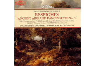 William Boughton, English String Orchestra - Ancient Airs+Dances - (CD)