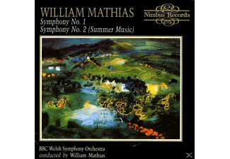 William Mathias, Bbc Welsh Symphony Orchestra - Sinfonien 1+2 - (CD)