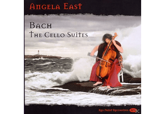 Angela East - Suites for Unaccompanied Cello - (CD)