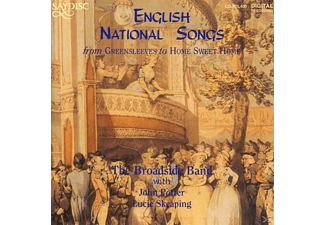 The Broadside Band - English National Songs - (CD)