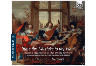 Stile Antico & Fretwork - Tune Thy Musicke To Thy Hart - (CD)