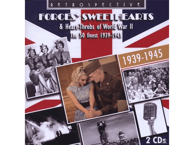 VARIOUS - Forces' Sweathearts [CD]