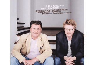 Julian Steckel, Paul Rivinius, Steckel,Julian/Rivinius,Paul - Französische Cellosonaten - (CD)