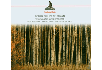 Holloway John, Vicki Böckman, Böckman,Vicki/Holloway,John - Trio Sonatas With Recorder(Telemann, Georg Philipp) - (CD)