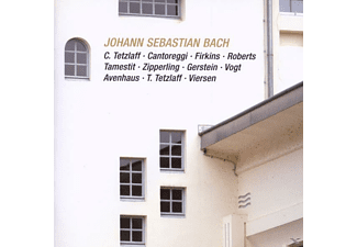 VARIOUS - Bach: Brandenb.Kon.6,Trio,Gamben- - (CD)