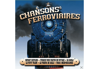 VARIOUS - Chansons Ferroviaires - (CD)