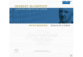 Herbert Blomstedt Gewandhausorchester Leipzig - Sinfonie 3 in d-moll/WAB 101,Originalversion - (CD)