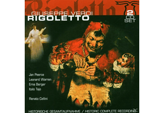 Leonard Warren, New York Met. - Rigoletto (Donizetti, Gaetano) - (CD)