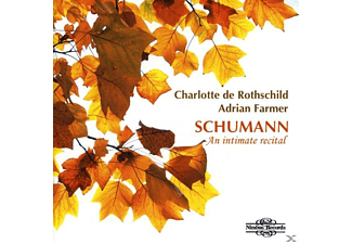 Adrian Farmer, Charlotte De Rothschild - An Intimate Recital - (CD)