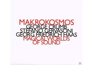Makrokosmos Quartet - MAGIC WORLDS OF SOUND - (CD)