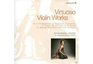 Elina Rubio, Graham Jackson - Virtuose Violinmusik - (CD)