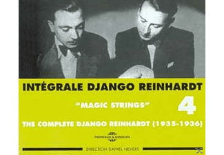 Django Reinhardt - Magic Strings 1935-1936 - (CD)