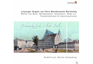 Schmeding & Lutz - THE MENDELSSOHN ORGANS IN LEIPZIG - (CD)