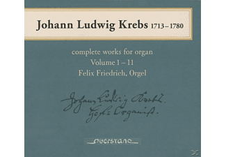 Felix Friedrich - Complete Works for Organ Vol.1-11 - (CD)