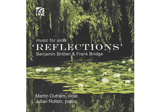 Julian Rolton (pno) Martin Outram (va) - Reflections-Music For Viola - (CD)