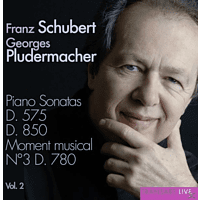 Georges Pludermacher (pno) - Klaviersonaten D.575 & 850 [CD]