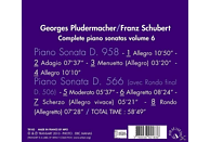 Georges Pludermacher - Klaviersonaten D.958 & 566 Vol.6 [CD]