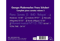 Georges Pludermacher - Klaviersonaten D.840 & 780 Vol.5 [CD]