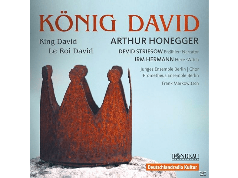 JUNGES ENSEMBLE BERLIN / DEVID STRI - König David (in deutscher Sprache) [CD]