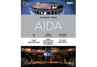 VARIOUS - Aida - (Blu-ray)