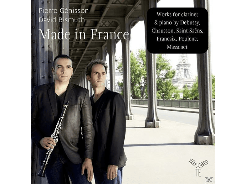 David Bismuth (pno) Pierre Genissson (clr) - Made In France [CD]