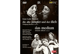 VARIOUS - Die Alte Jungfer/Das Medium - (DVD)