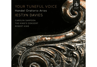 Carolyn Sampson, Iestyn Davies, The King's Consort - Your Tuneful Voice - (CD)